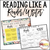 Reading Like a Writer Resources