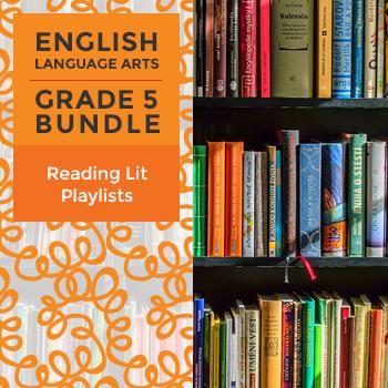 Reading Lit Playlists - Complete Grade 5 Bundle