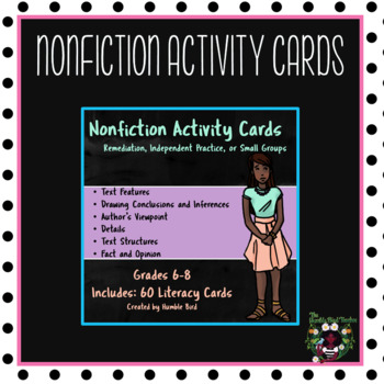 Reading Activity Cards (Nonfiction)