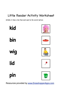 Reading Literacy Fun With 3 Letter Words By Innovative