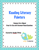 Reading Literacy Pointers