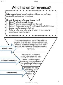 Reading Literary Common Core Standards for Seventh Grade Language Arts