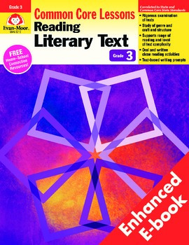 Reading Literary Text, Grade 3 - Teacher's Edition, E-book