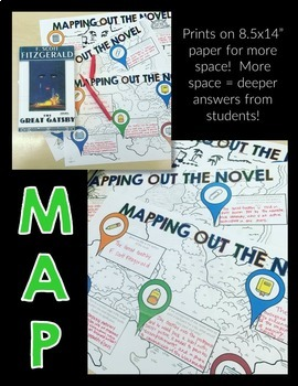Reading Literature Activity: Mapping Out a Novel Grades 6-12