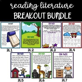 Reading Literature Breakout Challenges (MEGA BUNDLE)