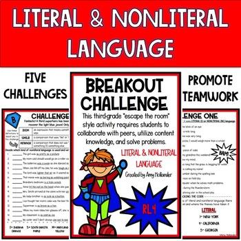 Reading Literature Breakout Challenges (Mini Bundle #2)