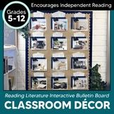 Reading Literature Challenge Interactive Bulletin Board: Classroom Decor