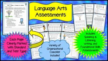 2nd Grade Language Arts Assessments