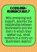 Kindergarten Common Core ELA Reading Literature Standards Posters