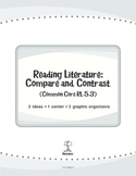 Reading Literature: Compare and Contrast (Common Core RL.5.3)