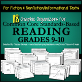 Reading Informational & Literature Graphic Organizers Gr 9-10