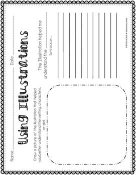 Reading Literature Graphic Organizers Pack- Common Core Aligned