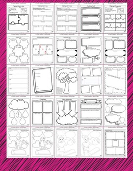 Reading Graphic Organizers | Reading Response Printables
