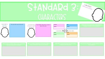 Reading Literature Graphic Organizers for Google Classroom