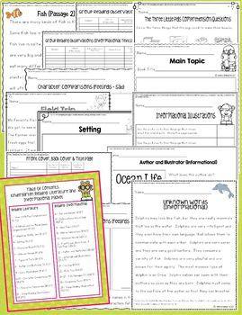 Reading: Literature & Informational Text Activities (Kindergarten Common Core)