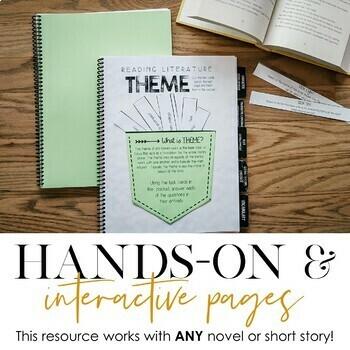 Reading Literature Interactive Notebook: Grades 6-9