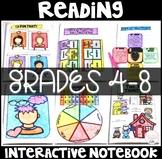 Reading Interactive Notebook Literature Standards Grades 4-8