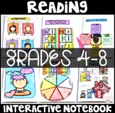 Reading Interactive Notebook Literature Standards Grades 4-8