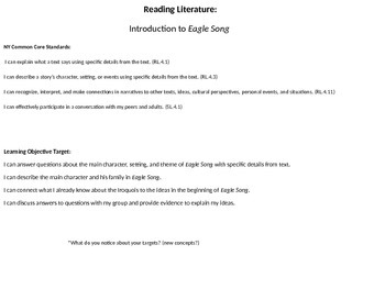 Reading Literature: Introduction to Eagle Song