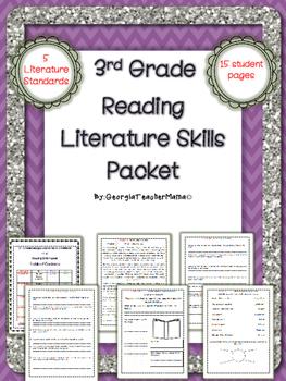 Reading Literature Skills Close Read Packet