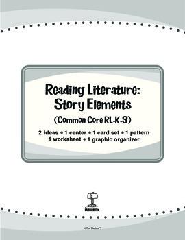 Reading Literature: Story Elements (Common Core RL.K.3)