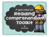 Reading Comprehension Toolkit - 4th grade Common Core: Reading Literature