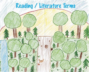 Reading / Literature Terms For Secondary English