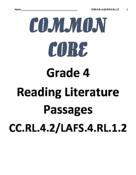 Reading Literature Text RL.4.2