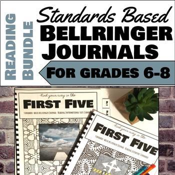 Reading Literature and Reading Informational Texts Bellringer Journal Bundle