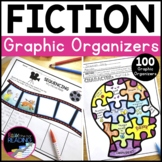 Reading Literature or Fiction Graphic Organizers, Reading Response Worksheets