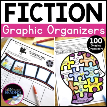 Fiction Graphic Organizers, Reading Response Worksheets, Distance Learning