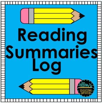 Reading Summaries Log