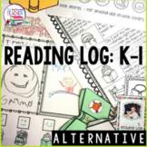 Fun K-1 Home - Reading Log (Alternative)