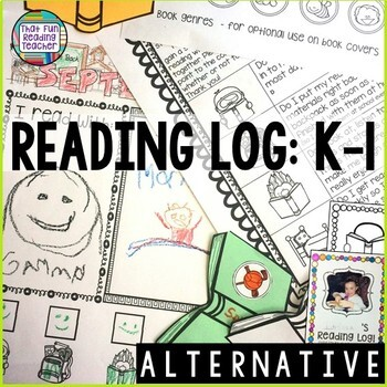 Reading Log: K-1 (Alternative)
