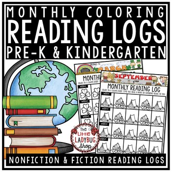 Reading Logs - Kindergarten & 1st Grade