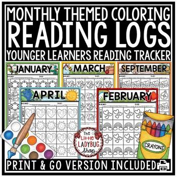 Reading Logs - Kindergarten & 1st Grade