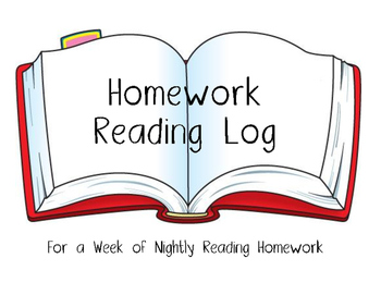 Reading Log for a Week of Nightly Reading