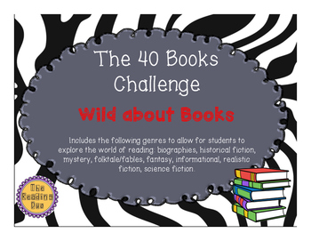 Reading Log- 40 book challenge