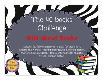 Reading Log- 40 book challenge