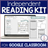 Reading Log Alternative - Google Classroom distance learning