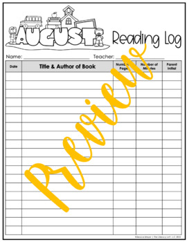 Reading Log {August}