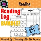 Reading Log BUNDLE!