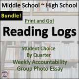 Reading Log BUNDLE!