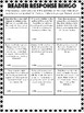 Reading Log Bingo- PDF