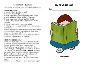 Reading Log - Booklet