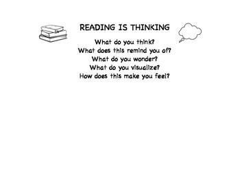 Comprehension Bookmark