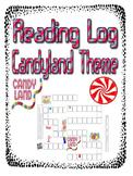 Reading Log Candyland Theme