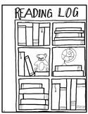 Reading Log Coloring Page