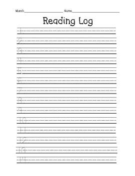 Reading Log- Comprehension Check