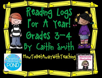 Reading Log Comprehension Questions Grades 3-4